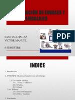 clasificación envases y embalajes