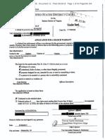 Man a Fort Warrant July 17