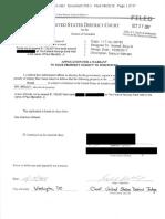 Oct 2017 FBI Search Warrant Affidavit in Manafort case