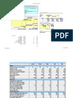 exemple tableur business plan