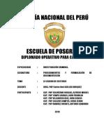 Ruptura Cadena Custodia_ ESPOGRA-PNP