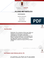 Alcalosis Metabólica. Lab.bioquimica