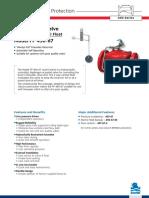 Válvula Diafragma Para Controlar de Nível