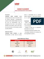 Cograem Hand Cleaner (Crema)