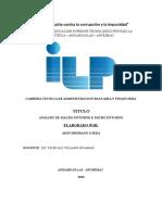 Análisis Micro Entorno y Macro Entorno de La Entidad Financiera Credinnka