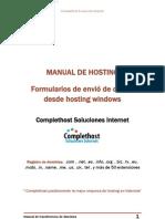 Envio de Correo Desde Formulario en Hosting Windows