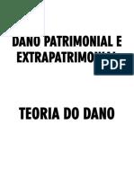 Dano Patrimonial e Extrapatrimonial