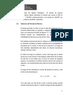 Seleccion Periodo Retorno MTC Peru