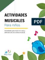 Actividades Musicales