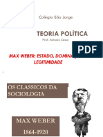 Teoria Politica Max Weber