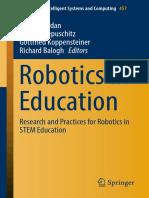 2017 Robotics in Education