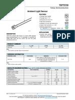 TEPT5700, Ambient Light Sensor