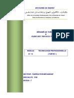 Module 14 Technologie Professionnelle Partie 1 Fm Tfm