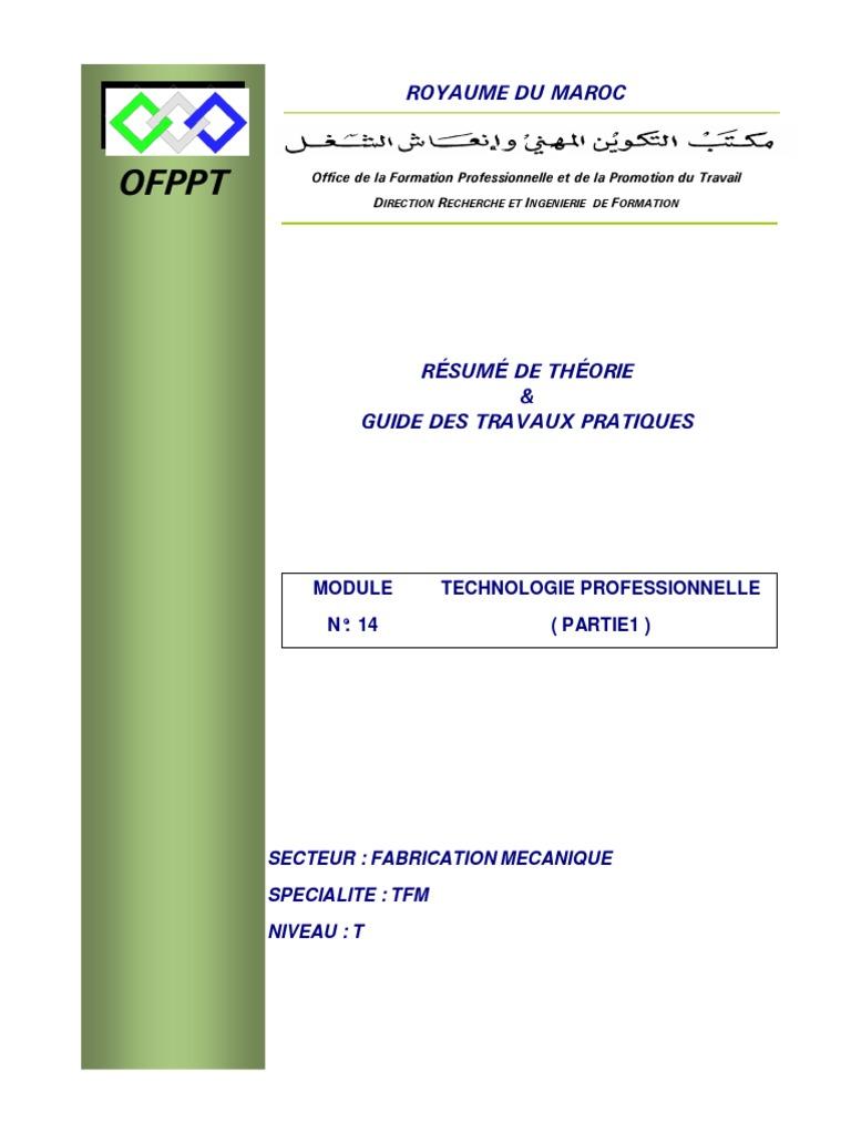 OFPPT TÉLÉCHARGER DE TFM MODULES LES