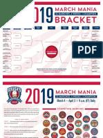 2019 March Man i a Bracket Interactive