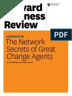 3. the Network Secrets of Great Change Agents - Battilana & Casciaro (HBR)