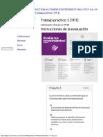 Introducción al Comercio Exterior - Trabajo Práctico 1 85% [TP1] by Matecito