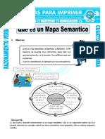 Ficha Que Es Un Mapa Semantico Para Cuarto de Primaria (1)