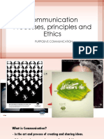 Communication Processes Principles and Ethics