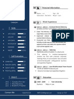 Business Style Resume for Lawyers-WPS Office