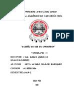 Kevin Alvaro Condori Enriquez Carretera