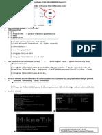 Praktikum VLAN Mikrotik Di GNS3 Versi CLI