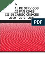 Manual de Servico CG 125 Fan-Cargo KS-ES 2009-11