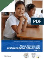 Manual Usuario GEFL