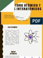 Estructura Atómica y Enlaces Interatómicos