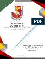 ACLARATORIA INPC_BCV