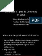 Contratos y Tipos de Contratos en Salud