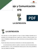 038 6b Lenguaje Diapositivas La Entrevista