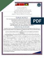 Affidavit of Allodial Permit