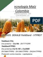 Charla Maíz Materiales Monsanto