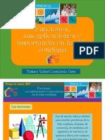 Funciones. Sus aplicaciones e importancia en la vida cotidiana/Módulo 13