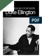 Lectura 1.2 Jazz Para Los Jóvenes. La Música Es Mi Amante. Duke Ellington. Memorias