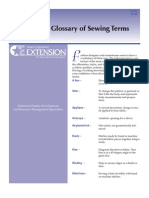 Tailoring Glossary