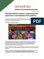 Rojas Gudynas Movilizaciones y Representaciones