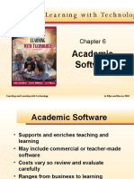 Academic software