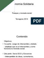 Trueque y Moneda Social