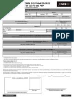 DRNP-SOR-For-0017 Solicitud de Clave Del RNP