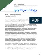 Simplypsychology.org Skinner