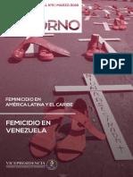 Feminicidio en América Latina y el Caribe