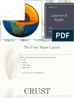 Layers of the Earth (Science)