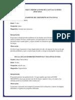 Interpretaciones y Observaciones de Las Evaluaciones Aplicadas Psiquiatria 2
