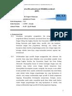 Contoh RPP administrasi umum
