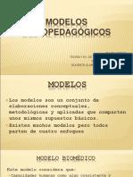 Enviando MODELOS PSICOPEDAGÓGICOS