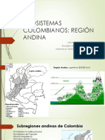 Ecosistemas Colombianos Region Andina