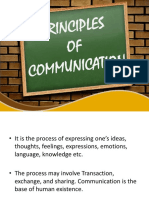 Principles of Communication With Notes