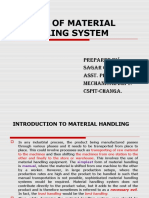 Design of Material Handeling Equipment
